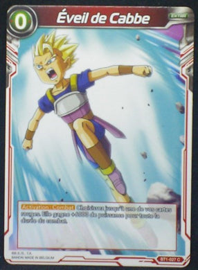 carte dragon ball super BT1-027 C fr bandai 2018