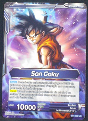 carte dragon ball super BT1-030 UC fr bandai 2018