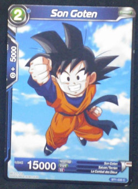 carte dragon ball super BT1-035 C fr bandai 2018