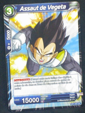 carte dragon ball super BT1-037 UC fr bandai 2018