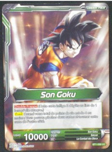 carte dragon ball super BT1-056 UC fr card game bandai 2018 songoku