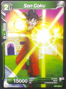 carte dragon ball super BT1-060 C fr card game bandai 2018