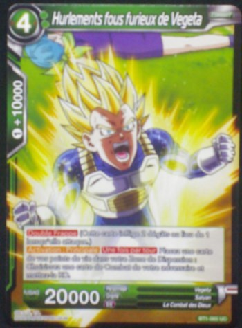 carte dragon ball super BT1-065 UC fr bandai 2018