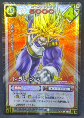 trading card game jcc carte dragon ball z Card Game Part 2 n°D-165 (2003) (Prisme version booster) trunks dbz cardamehdz