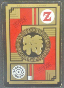 trading card game jcc carte dragon ball z Carddass Le Grand Combat Part 2 n°517 (1996) bandai chichi