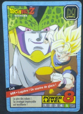 trading card game jcc carte dragon ball z Carddass Le Grand Combat Part 4 n°609 (1996) bandai cell songoku dbz cardamehdz
