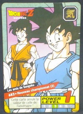 trading card game jcc carte dragon ball z Carddass Le Grand Combat Part 6 n°682 (1997) bandai songoku songoten dbz cardamehdz