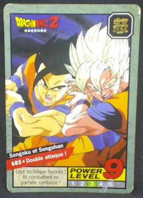 trading card game jcc carte dragon ball z Carddass Le Grand Combat Part 6 n°685 (1997) bandai songoku songohan dbz cardamehdz
