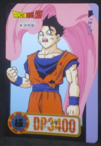 trading card game jcc carte dragon ball z Carddass Part 23 n°251 (Total n°906) (1995) bandai songohan dbz cardamehdz