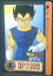trading card game jcc carte dragon ball z Carddass Part 23 n°279 (Total n°925) (1995) bandai vegeta dbz cardamehdz