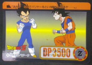 trading card game jcc carte dragon ball z Carddass Part 23 n°284 (Total n°930) (1995) bandai vegeta songoku dbz cardamehdz