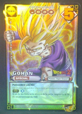 trading card game jcc carte dragon ball z Cartes à jouer et à collectionner (JCC) Part 2 D-182 (2006) bandai songohan dbz cardamehdz