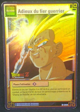 trading card game jcc carte dragon ball z Cartes à jouer et à collectionner (JCC) Part 3 D-344 (2006) bandai vegeta dbz cardamehdz