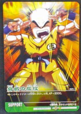 carte dragon ball z Data Carddass 2 Part 1 n°021-II bandai krilin dbz 2006