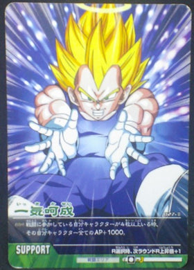 tcg jcc carte dragon ball z Data Carddass 2 Part 1 n°027-II (2006) vegeta bandai dbz cardamehdz