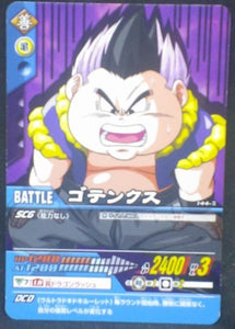 tcg jcc carte dragon ball z Data Carddass 2 Part 5 n°144-II (2006) gotenks bandai dbz cardamehdz