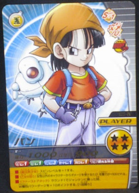 trading card game jcc carte dragon ball z Data Carddass W Bakuretsu Impact Part 3 n°122-IV (2008) bandai pan dbz cardamehdz
