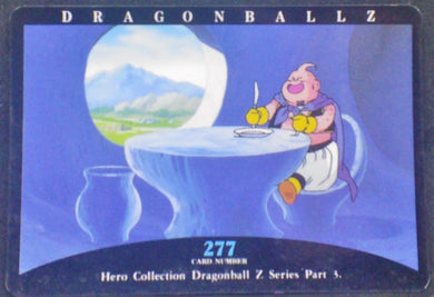 trading card game jcc carte dragon ball z Hero Collection Part 3 n°277 (1995) Amada Boo Dbz