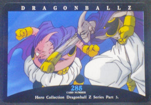 carte dragon ball z Hero Collection Part 3 n°285 (1995) Amada dbz boo vs majin buu