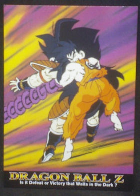 tcg jcc carte dragon ball z Trading card DBZ news Part 1 n°12 (2003) Amada songoku radditz cardamehdz