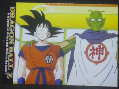 tcg jcc carte dragon ball z Trading card DBZ news Part 1 n°14 (2003) Amada songoku kami sama cardamehdz