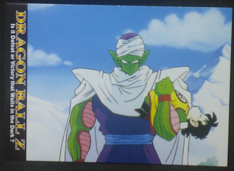 tcg jcc carte dragon ball z Trading card DBZ news Part 1 n°16 (2003) Amada piccolo songohan cardamehdz