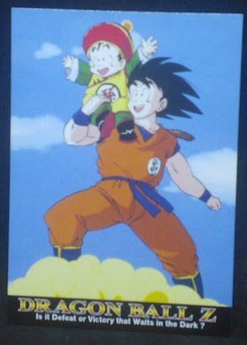 tcg jcc carte dragon ball z Trading card DBZ news Part 1 n°1 (2003) Amada songoku songohan cardamehdz