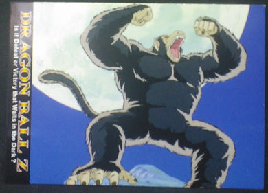 tcg jcc carte dragon ball z Trading card DBZ news Part 1 n°20 (2003) Amada oozaru cardamehdz