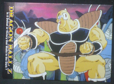 tcg jcc carte dragon ball z Trading card DBZ news Part 1 n°22 (2003) Amada nappa cardamehdz