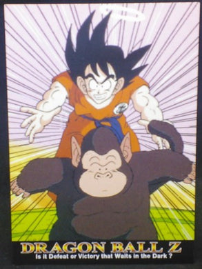 trading card game jcc carte dragon ball z Trading card DBZ news Part 1 n°33 (2003) songoku bubbles amada cardamehdz