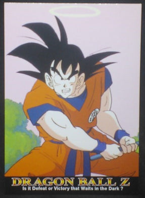 tcg jcc carte dragon ball z Trading card DBZ news Part 1 n°34 (2003) Amada songoku cardamehdz