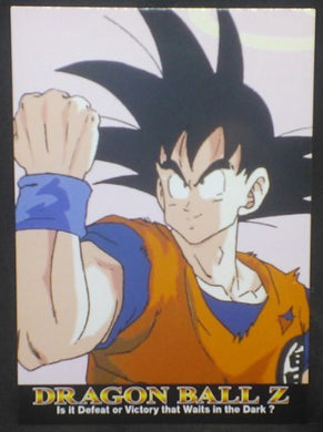 tcg jcc carte dragon ball z Trading card DBZ news Part 1 n°36 (2003) Amada songoku cardamehdz