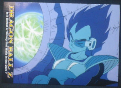 tcg jcc carte dragon ball z Trading card DBZ news Part 1 n°37 (2003) Amada vegeta