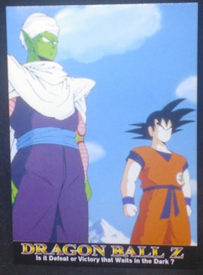 tcg jcc carte dragon ball z Trading card DBZ news Part 1 n°5 (2003) Amada piccolo songoku cardamehdz