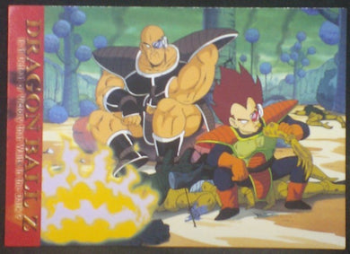 tcg jcc carte dragon ball z Trading card DBZ news Part 2 n°46 (2003) Amada vegeta nappa cardamehdz