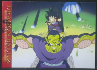 tcg jcc carte dragon ball z Trading card DBZ news Part 2 n°47 (2003) Amada songohan piccolo cardamehdz