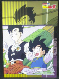 jcc carte dragon ball z Trading card DBZ news Part 5 n°37 (2004) songoku songohan amada cardamehdz verso