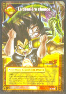 trading card game jcc fr carte dragon ball z carte a jouer et a collectionner (jcc) part 2 D-212 prisme holo songoku radditz dbz cardamehdz