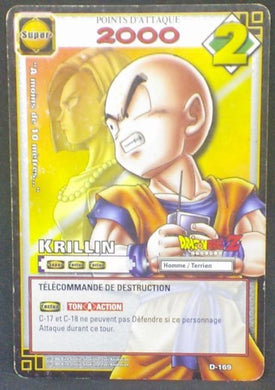 trading card game jcc carte dragon ball z cartes a jouer et a collectionner (jcc) part 2 D-169 (2006) bandai krilin cyborg 18 dbz cardamehdz