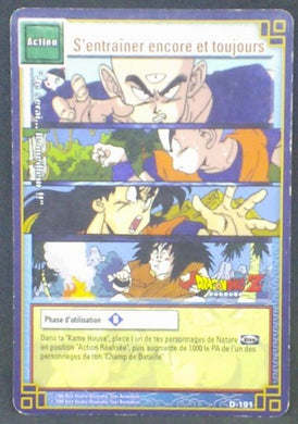 trading card game jcc carte dragon ball z cartes a jouer et a collectionner (jcc) part 2 D-191 (2006) bandai tenshinhan krilin yamcha yajirobe dbz cardamehdz