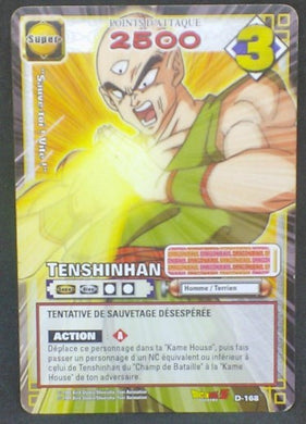 trading card game jcc carte dragon ball z cartes a jouer et a collectionner (jcc) part 4 D-168 (2006) bandai tenshinhan dbz