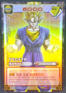 carte dragon ball z collection Cartes À Jouer Et À Collectionner Carte Hors Series SP-25 Vegeto