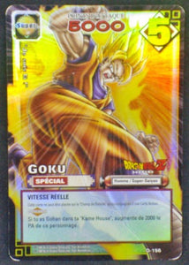 carte dragon ball z collection Cartes À Jouer Et À Collectionner Part 2 D-156 Holo prisme songoku 2006