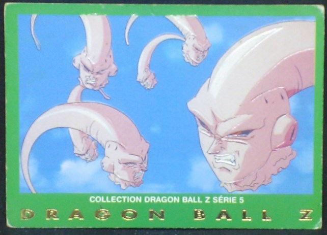 trading card game carte dragon ball z française panini serie 5 n°16 majin boo