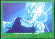 Charger l'image dans la galerie, trading card game carte dragon ball z française panini serie 5 n°1 vegeta
