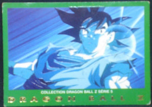 trading card game carte dragon ball z française panini serie 5 n°2 songoku