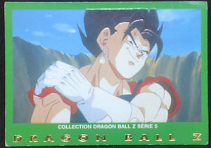 trading card game carte dragon ball z française panini serie 5 n°6 vegeto