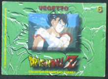 Charger l'image dans la galerie, trading card game carte dragon ball z française panini serie 5 n°6 vegeto verso