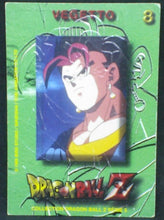 Charger l'image dans la galerie, trading card game carte dragon ball z française panini serie 5 n°8 vegeto verso