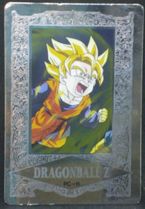 tcg jcc carte dragon ball z hero collection part 2 platina card n°11 Songoten amada (1994) dbz cardamehdz